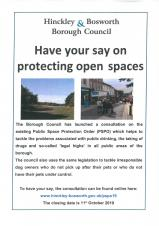 Public Space Protection Order - Have Your say